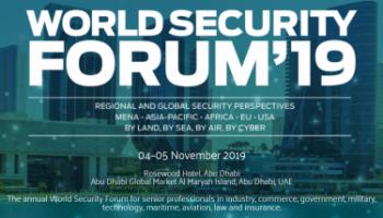 World Security Forum 2019, 4-5 November, Abu Dhabi Global Market Al Maryah Island, Abu Dhabi, UAE - Κεντρική Εικόνα