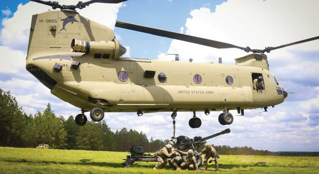 Triumph Awarded Engine Component MRO Contract For International Chinook Fleet - Κεντρική Εικόνα
