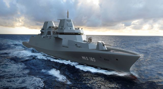 German Navy selects Damen and Blohm + Voss for construction Multi-Purpose Combat Ship MKS180 frigates - Κεντρική Εικόνα
