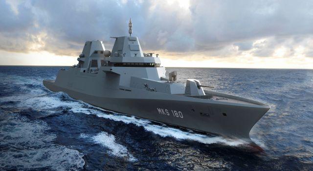 German Navy selects Damen and Blohm + Voss for construction Multi-Purpose Combat Ship MKS180 frigates - Κεντρική Εικόνα