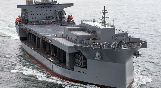General Dynamics Awarded $1.6 Billion Contract to Build Additional U.S. Navy Expeditionary Sea Base Ships - Κεντρική Εικόνα
