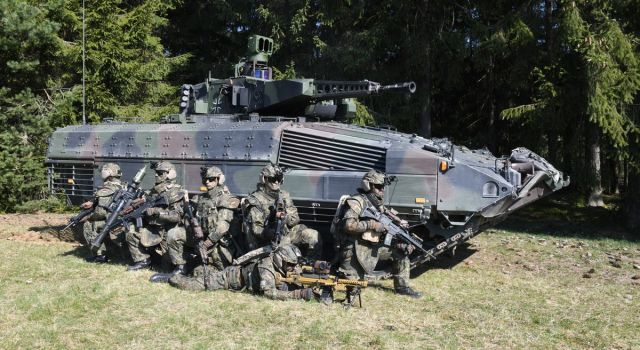 Rheinmetall modernizing Puma infantry fighting vehicle and other equipment for NATO spearhead VJTF 2023 - Κεντρική Εικόνα