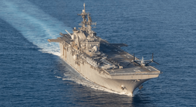Huntington Ingalls Industries Awarded $187 Million Advance Procurement Contract for Amphibious Assault Ship LHA 9 - Κεντρική Εικόνα