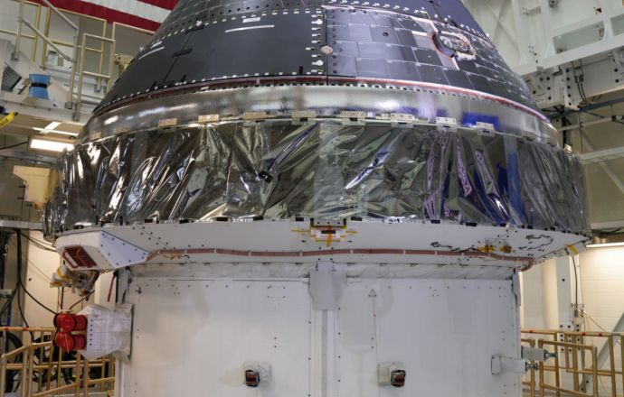 Lockheed Martin Completes NASA's Orion Spacecraft Capsule For Artemis 1 Mission To The Moon - Κεντρική Εικόνα