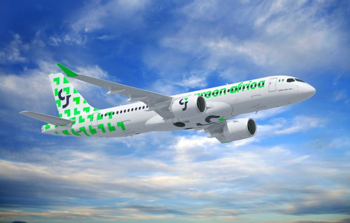 Airbus and Green Africa announce strategic partnership with MoU for 50 A220s - Κεντρική Εικόνα