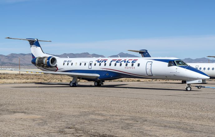 Embraer and Air Peace sign multi-year pool programme agreement for six ERJ-145 jets - Κεντρική Εικόνα