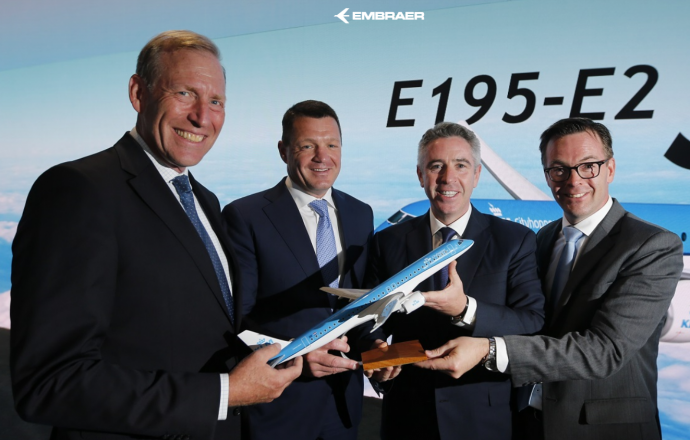 KLM Firms Up Order for E195-E2 Jets and Adds Six Further Aircraft - Κεντρική Εικόνα