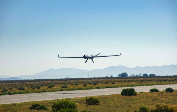 GA-ASI Demonstrates SATCOM Launch and Recovery Capability for MQ-9B - Κεντρική Εικόνα