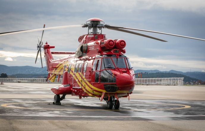 China's first Airbus H215 helicopter delivered to SGGAC for utility missions - Κεντρική Εικόνα