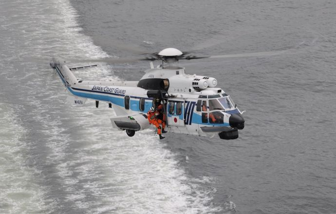 Japan Coast Guard orders two more H225 helicopters - Κεντρική Εικόνα