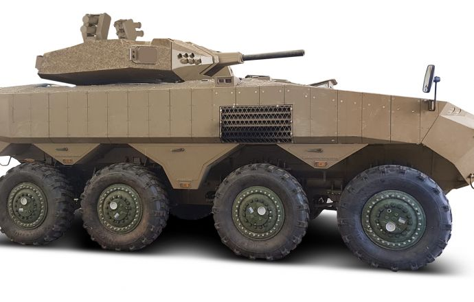 Israeli Ministry of Defense Selects Elbit Systems' Iron Fist Light Decoupled Active Protection System for the Eitan AFV - Κεντρική Εικόνα