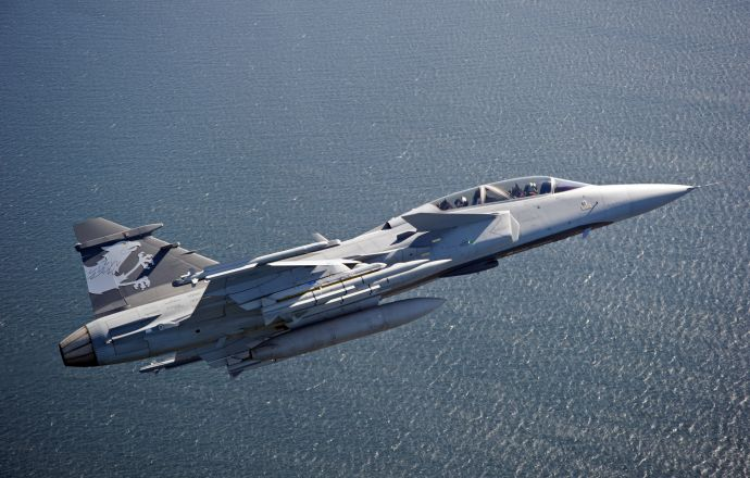 Gripen F Fighter Production Under way - Κεντρική Εικόνα