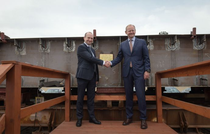 keel-laying_ceremony_for_swedish_sigint_ship_built_at_polish_naval_shipyard
