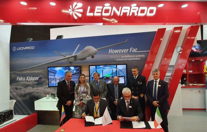 Leonardo and CODALTEC announce a Memorandum of Understanding which will see the two companies jointly approach the Colombian security and defence market - Κεντρική Εικόνα
