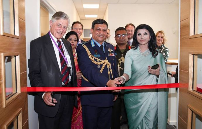 Bangladesh Air Force Chief Opens Marshall Customer Service Centre - Κεντρική Εικόνα