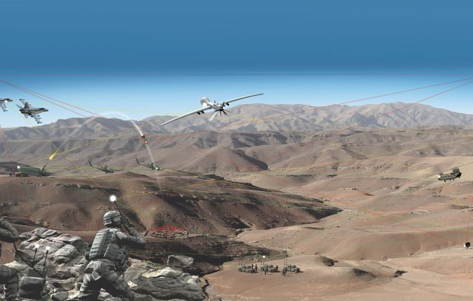 Collins Aerospace performs interoperability tests between airborne and ground radios over MUOS SATCOM network - Κεντρική Εικόνα