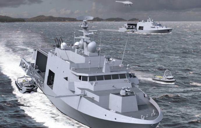 The Belgian Defence Notifies Belgium Naval and Robotics the Supply Contract for 12 Minehunters Equipped with their Drone Systems - Κεντρική Εικόνα
