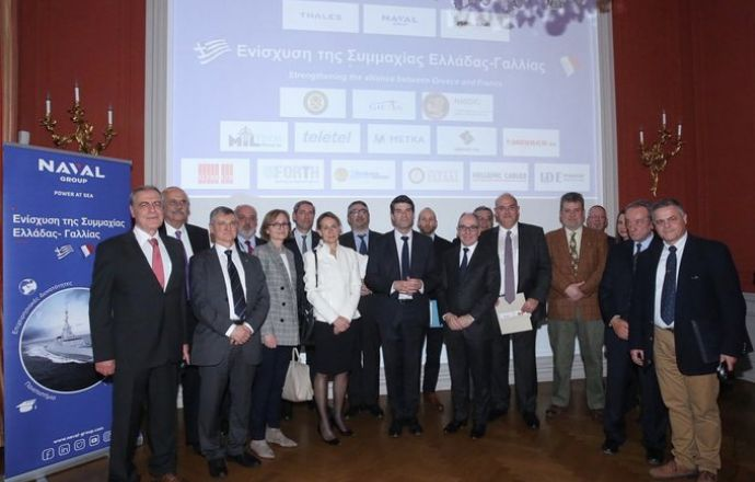 Naval Group presents its industrial and academic cooperation plan with Greece - Κεντρική Εικόνα