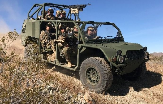 Oshkosh Defense and  Flyer Defense receive task assignment to develop Infantry Squad Vehicle (ISV) - Κεντρική Εικόνα