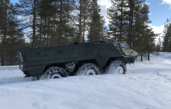 Patria's 6x6 vehicle platform interests also Estonia - Estonia to join Finland and Latvia in the vehicle development programme - Κεντρική Εικόνα