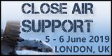 Close Air Support 2019, 5-6 June, London, UK - Logo