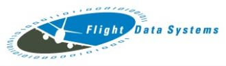 Flight Data Systems - Logo