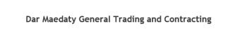 Dar Maedaty General Trading and Contracting - شركة دار مياداتي للتجارة العامة والمقاولات - Logo