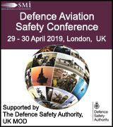 Defence Aviation Safety Conference 2019, Supported by The Defence Safety Authority, UK MoD, 29-30 April, London, UK - Logo