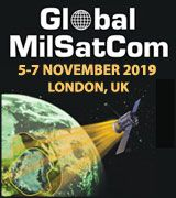 21st Annual Global MilSatCom 2019, 5-7 November, London, UK - Logo