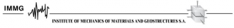 IMMG - Institute of Mechanics of Materials & Geostructures S.A. - Logo