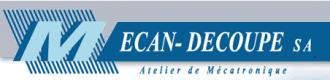 Mecan-Decoupe S.A. - Logo