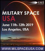 Military Space USA 2019, June 11-12, Los Angeles, USA - Logo