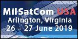4th Annual MilSatCom USA Conference, 26–27 June, Arlington, Virginia, USA - Logo