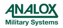 Analox Military Systems Ltd - Logo