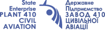 PLANT 410 CIVIL AVIATION - Logo