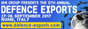 12th annual Defence Exports 2017, 27-28 September, Crowne Plaza St Peter's Hotel & Spa, Rome, Italy - Κεντρική Εικόνα