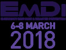 EMDI - Emergency Response & Disaster Prevention 2018, 6-8 March, Abu Dhabi, UAE - Κεντρική Εικόνα