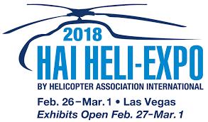 HAI HELI-EXPO 2018, Feb. 26-Mar. 1, Las Vegas, Nevada, USA - Κεντρική Εικόνα