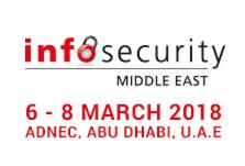 Infosecurity Middle East 2018, 6-8 March, ADNEC, Abu Dhabi, UAE - Κεντρική Εικόνα