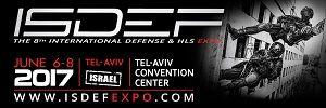 ISDEF 2017, 6-8 June, Tel-Aviv, Israel - Κεντρική Εικόνα